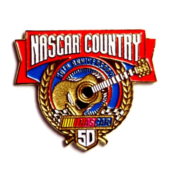 Jewelry - NASCAR Country 50th Anniversary 1998 Lapel Pin